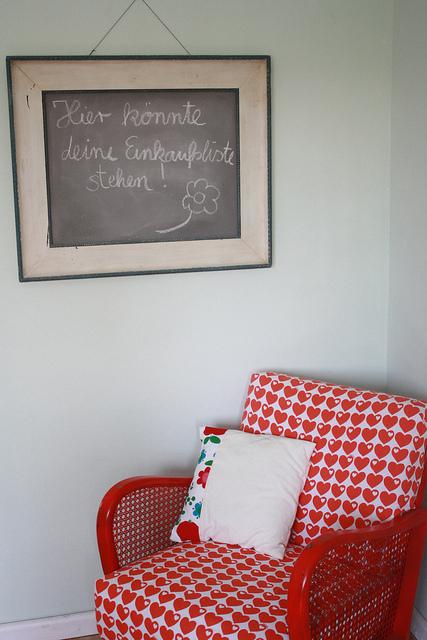 frau liebe tafelfarbe selbermachen. Black Bedroom Furniture Sets. Home Design Ideas